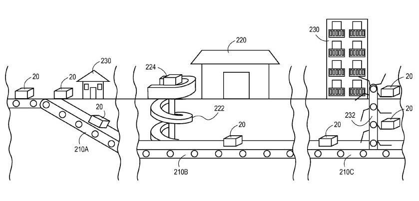 amazon underground delivery patent cody schneider