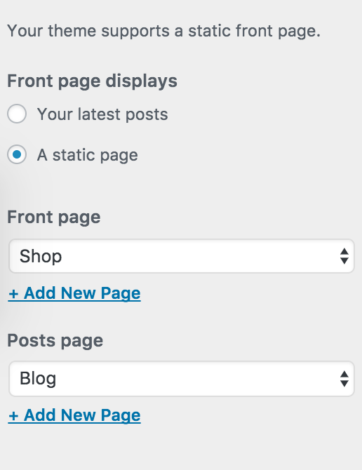 how to make static front page virtue theme wordpress cody schneider